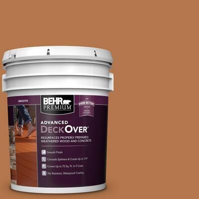 5 gal. #SC-533 Cedar Naturaltone Smooth Solid Color Exterior Wood and Concrete Coating