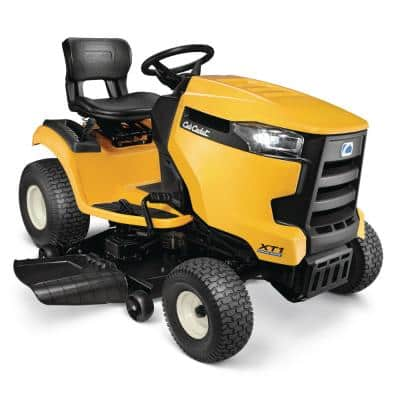 XT1 Enduro LT 46 in. 22 HP V-Twin Kohler 7000 Series Engine Hydrostatic Drive Gas Riding Lawn Mower (CA Compliant)