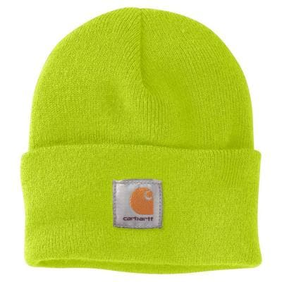 Men's OFA Brite Lime Acrylic Hat Headwear