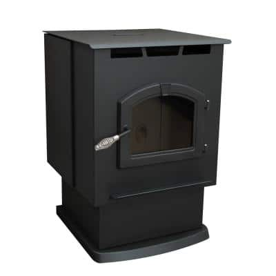 2,200 sq. ft. EPA Certified Pellet Stove with 80 lbs. Hopper and Auto Ignition