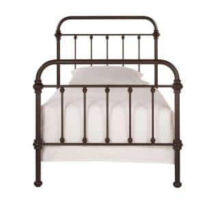 CalabriaAntique BrownTwin Bed Frame