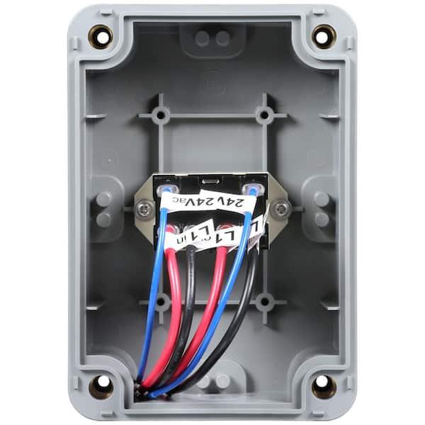 Orbit 1-2 HP Pump Start Relay-57009 - The Home Depot   Sprinkler Pump Start Relay Wiring Diagram      The Home Depot