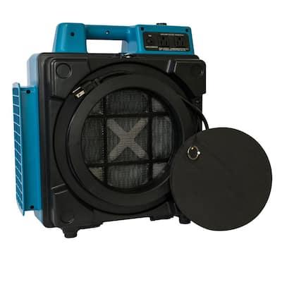 500 CFM Professional 3-Stage HEPA Mini Air Scrubber Purifier