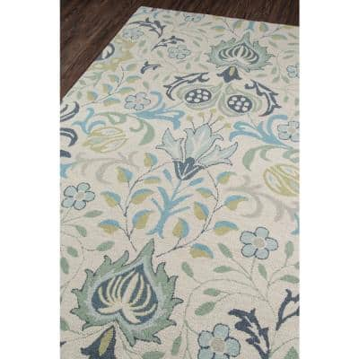 Newport Blue 8 ft. x 10 ft. Indoor Area Rug