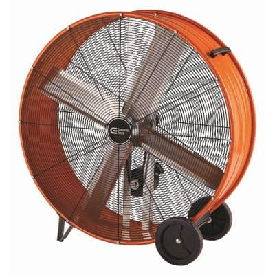 42 in. Heavy Duty Belt Drive Drum Fan