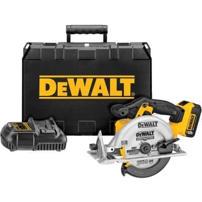 20-Volt MAX Cordless 6-1/2 in. Circular Saw with (1) 20-Volt Battery 5.0Ah & Charger