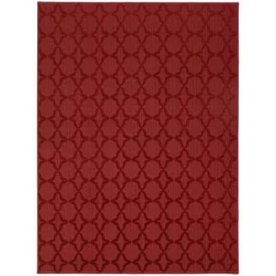 Sparta 12 Ft. x 12 Ft. Area Rug Chili Pepper Red