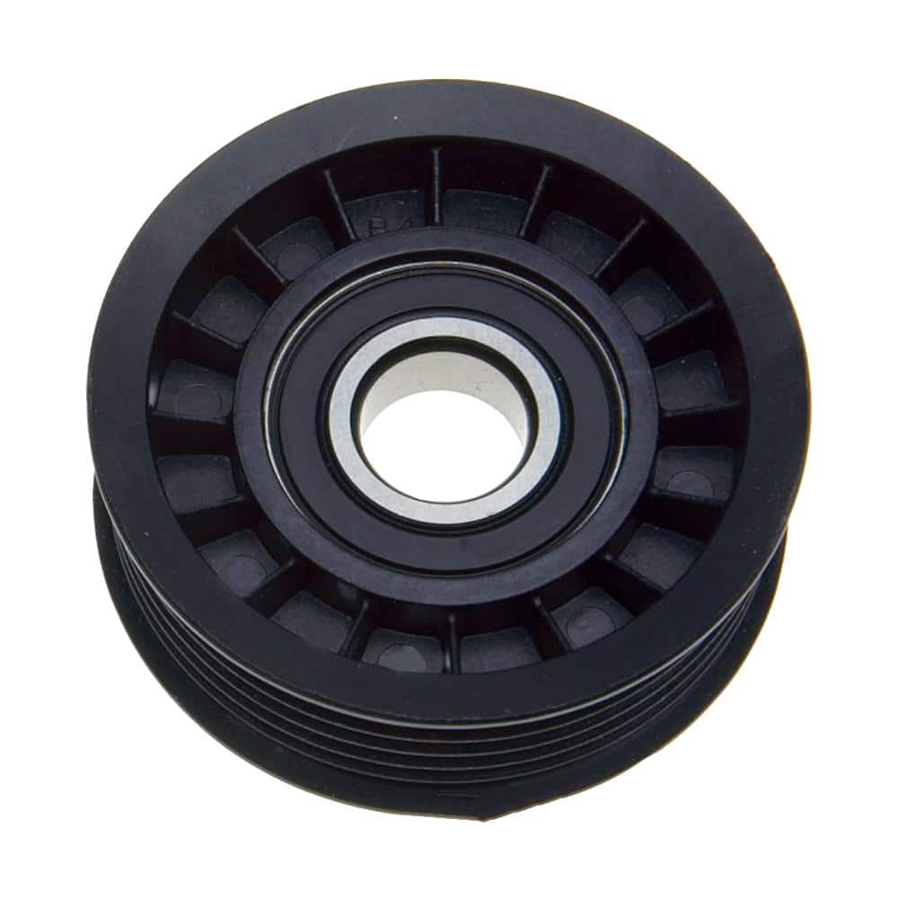Acdelco Accessory Drive Belt Tensioner Pulley Alternator Water Pump And Power Steering Lower 38008 The Home Depot