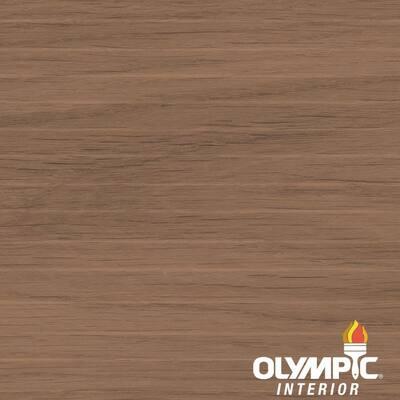 1-qt. American Walnut Semi-Transparent Oil-Based Wood Finish Penetrating Interior Stain