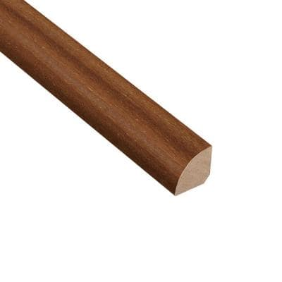 Brazilian Teak Avalon 3/4 in. Thick x 3/4 in. Wide x 94 in. Length Quarter Round Molding