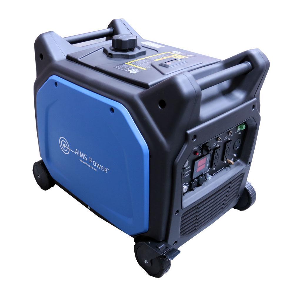 6600-Watt 120-Volt/240-Volt AC Portable Pure Sine Inverter Generator