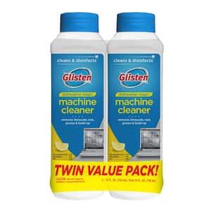 Glisten 12 oz. Cleaner and Disinfectant Dishwasher Detergent, 2-Pack