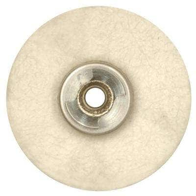 EZ Lock Rotary Tool 1 in. Cloth Polishing Wheel for Silverware, Car Parts, and Door and Window Hardware
