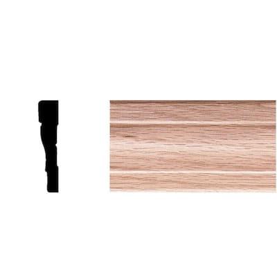 7/16 in. x 2-1/4 in. x 7 ft. Oak Wood Colonial Casing Moulding