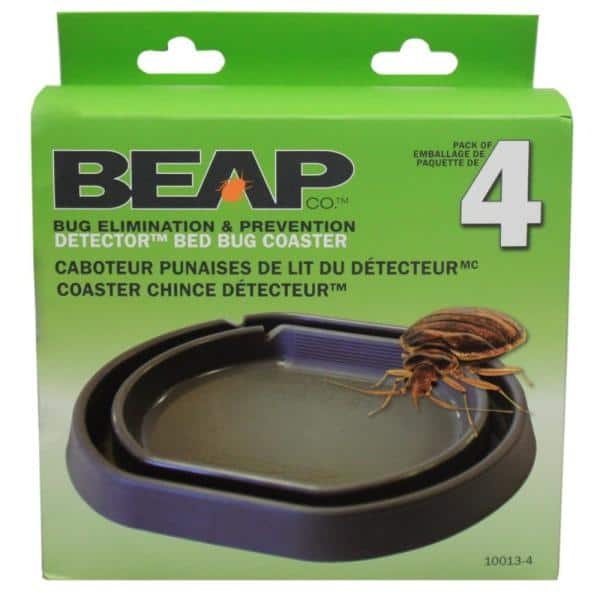 FIBERTRAP BED BUG TRAP CATCHES BED BUGS NO CHEMICALS OR PESTICIDES