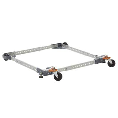 Steel 17 in. x 48 in. Universal Mobile Base