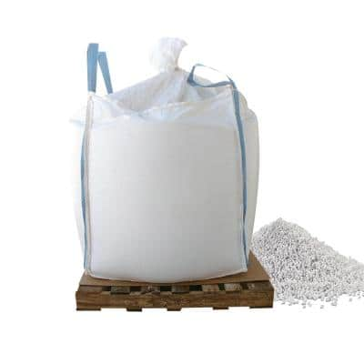 1000 lbs. Skidded Supersack of Calcium Chloride Pellets