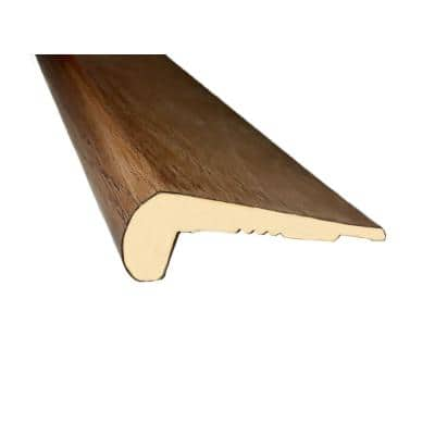 Oak Tate 1 in. Thick x 3 in. Wide x 94 in. Length Stair Nose Molding