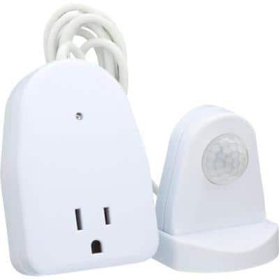 Indoor Plug-In Motion Activated Light Control