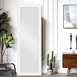 64 in. x 21 in. Glam Rectangle Full-length Floor Framed Standing Mirror