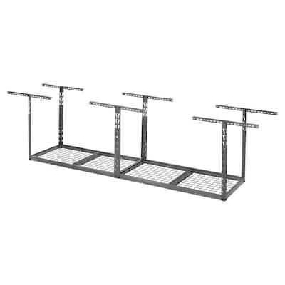 GearLoft Hammered Granite Adjustable Height Overhead Garage Storage Rack (96 in W x 24 in D)