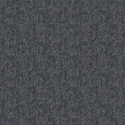 Crescent Creek Online News Textured 24 in. x 24 in. Carpet Tile (24 Tiles/Case)