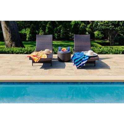 Aegean Pearl Tumbled Pattern Marble Paver Kit (360 pieces/480 sq. ft./Pallet)