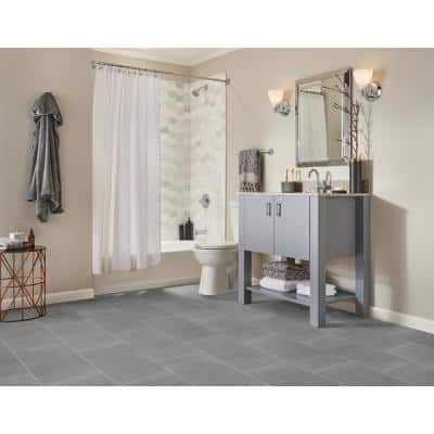 Cementino Gray 12 in. x 24 in. Matte Porcelain Floor and Wall Tile (14 sq. ft./Case)