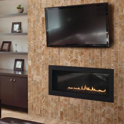 Montecelio Rustic 12 in. x 14 in. x 9 mm Porcelain Mesh-Mounted Mosaic Tile