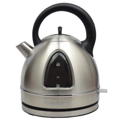 7-Cup Stainless Look Cordless Electric Kettle with Removable Filter