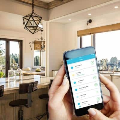 Smart Switch Indoor Wi-Fi In-Wall Switch Amazon Alexa/Google Asst, Remote, Multiple Scene Control and Schedules