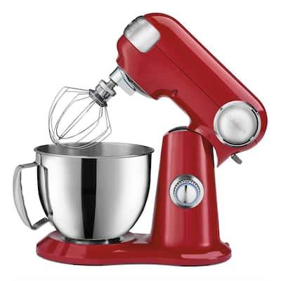 Precision Master 3.5 qt. Petite Stand Mixer in Red