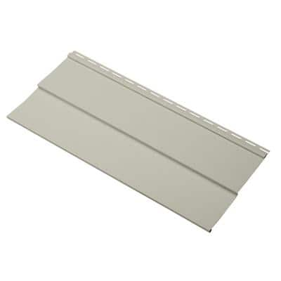 Take Home Sample Transformations Double 5 in. x 24 in. Vinyl Siding in Olive