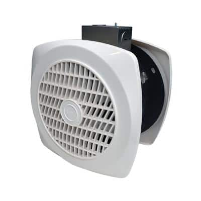 90 CFM Through-The-Wall Ventilation Fan for Home Bathroom Laundry Room Utility Exhaust Wall Fan 6 in. 4.0 Sone