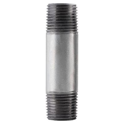 3/8 in. x 4 in. Galvanized Steel Pipe Nipple