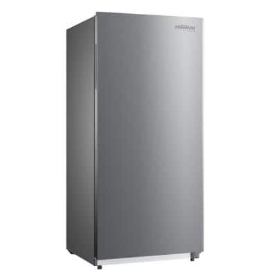 13.8 cu. ft. Frost Free Upright Freezer with Stainless Steel Look