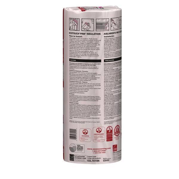 x 48 in Energy Star Cert. 6-Pack 16 in Denim Insulation Multi-Purpose Roll