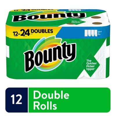 Select-A-Size White Paper Towels (12 Double Rolls)