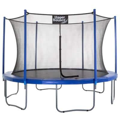 12 ft. Trampoline and Enclosure Set Equipped with Easy Assemble Feature