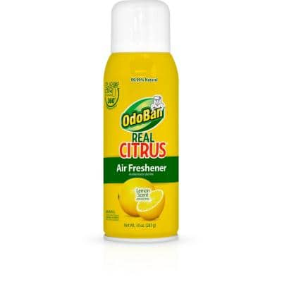 Real Citrus 10 oz. Lemon Air Freshener Spray