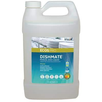 128 oz. Dishmate Pear Manual Dishwashing Liquid