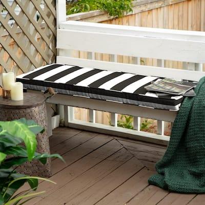 48 x 18 Sunbrella Cabana Classic Outdoor Bench Cushion