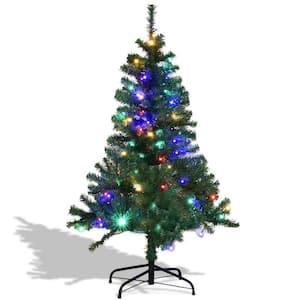 7 ft. Unlit Premium Hinged Artificial Christmas Tree