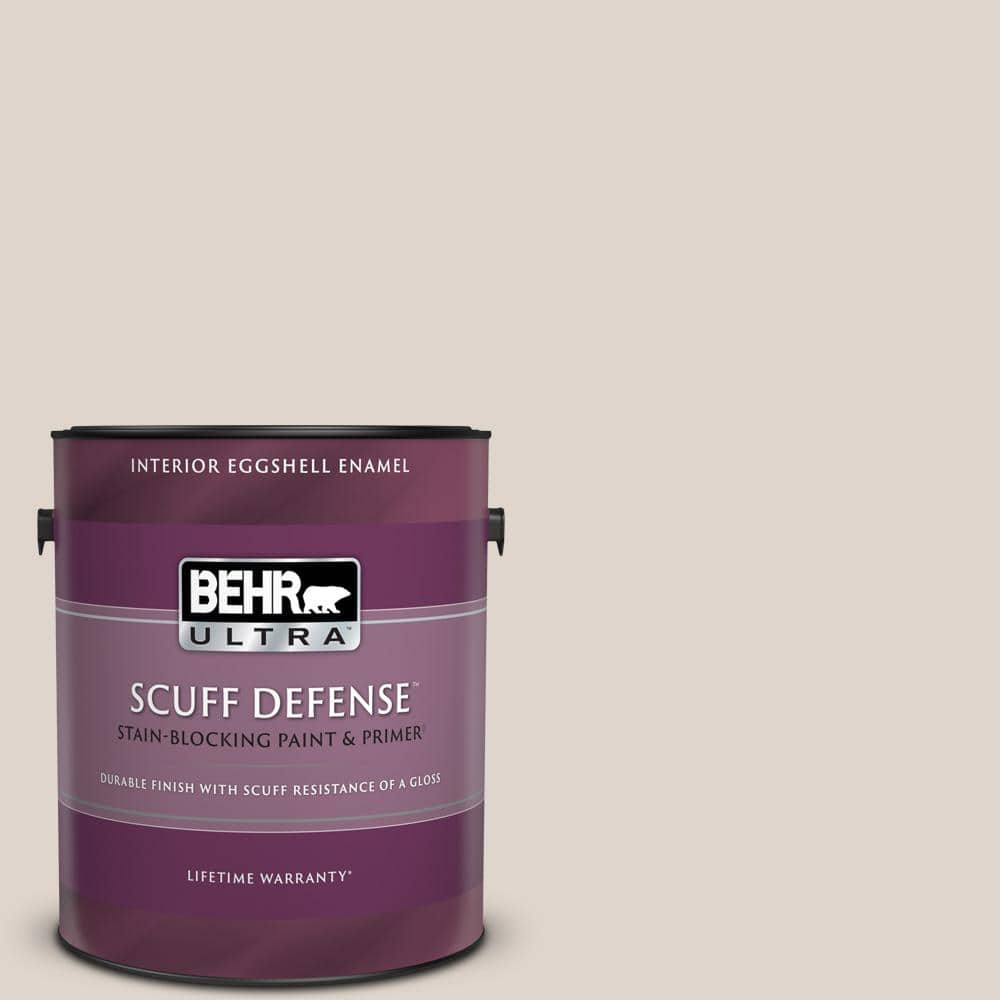Behr Ultra 1 Gal N170 2 Rose Pearl Extra Durable Eggshell Enamel Interior Paint Primer 275001 The Home Depot