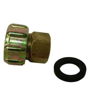 3/4 in. FHT x 1/2 in. FIP Brass Adapter Fitting