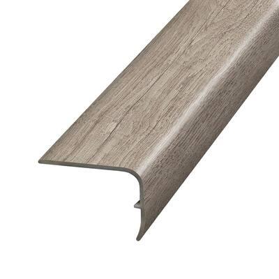Gadwall Oak 1.32 in. T x 1.88 in. W x 78.7 in. L Vinyl Stair Nose Molding