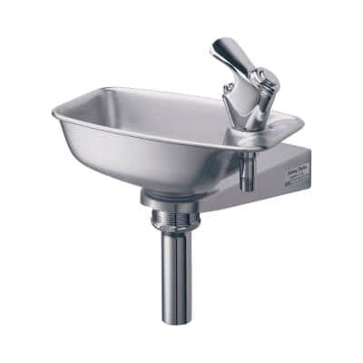 Non-Filtered Non-Refrigerated Stainless Steel Bracket Drinking Fountain