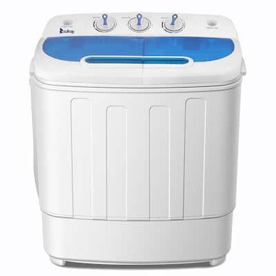 13.4 lbs White Semi-automatic Twin Tube Washing machine