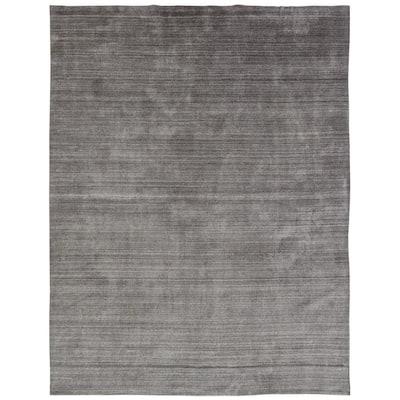 Meridian Grey Fog 8 ft. x 10 ft. Area Rug
