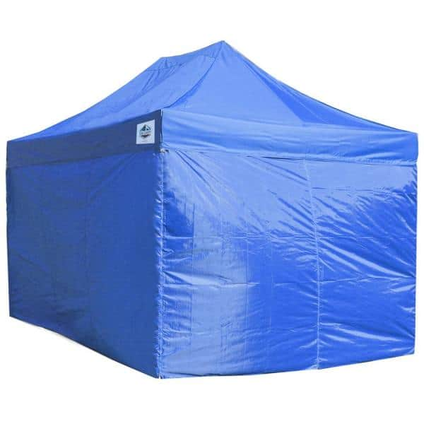 King Canopy Universal Blue Side Walls For 10 Ft X 15 Ft Instant 4 Piece Inasw4p15bl The Home Depot